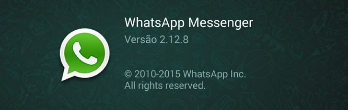 WhatsApp 2.12.8 – Download Apk Oficial