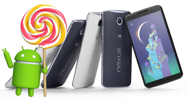 Nexus 6 Lollipop 5.1.1