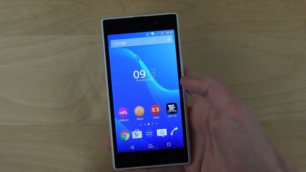 Sony Xperia Z1 Android 5.0.2 Lollipop