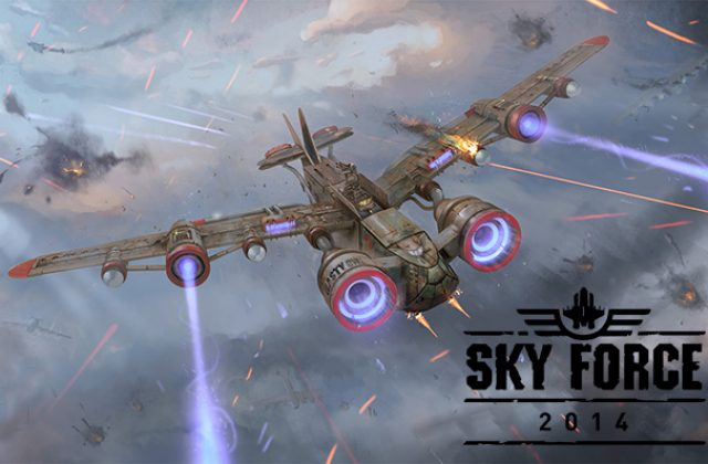 Sky Force 2014 jogo para Android e iPhone