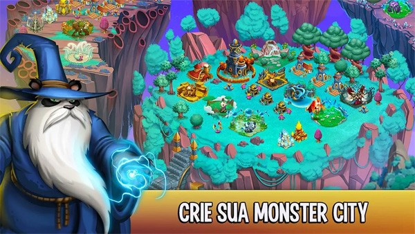 Monster Legends jogo para Android e iOS