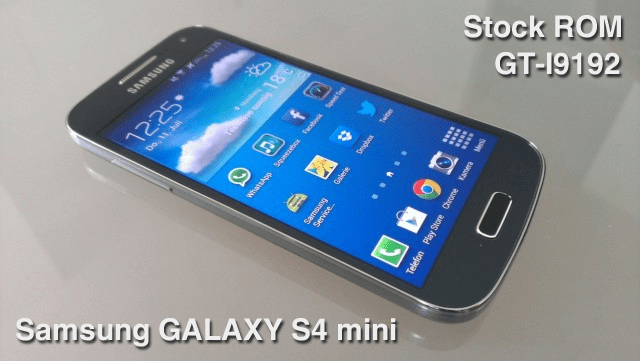 Samsung GALAXY S4 mini Stock ROM