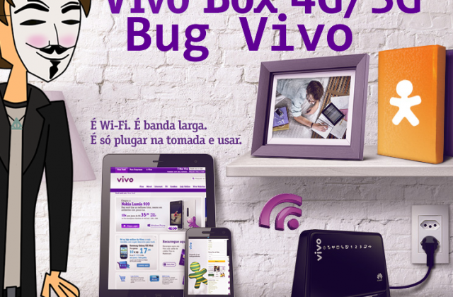 Bug VIVO Internet – Internet Ilimitada no 3G e 4G [80 GB Extra]