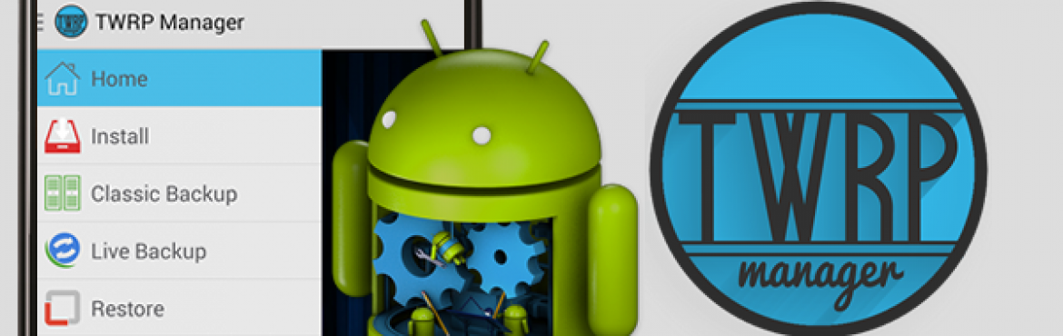 TWRP Manager FULL v9.3 – Instale o Recovery em qualquer Android