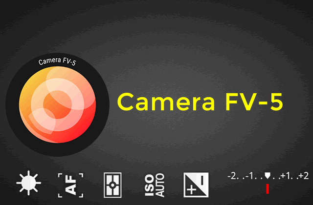 Camera FV-5 Pro v3.31.4 APK – funções ISO na camera digital do Android