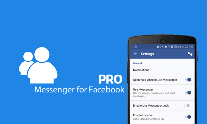 Messenger for Facebook Pro