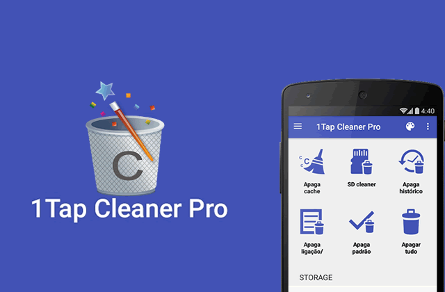 1Tap Cleaner Pro v3.59 – Limpador Android