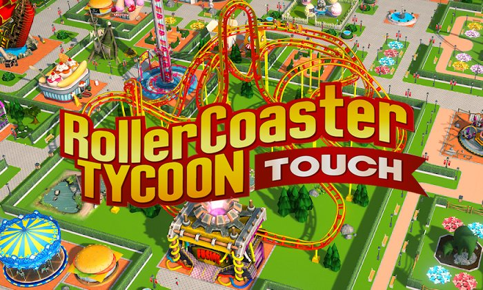 ROLLERCOASTER TYCOON TOUCH DINHEIRO INFINITO